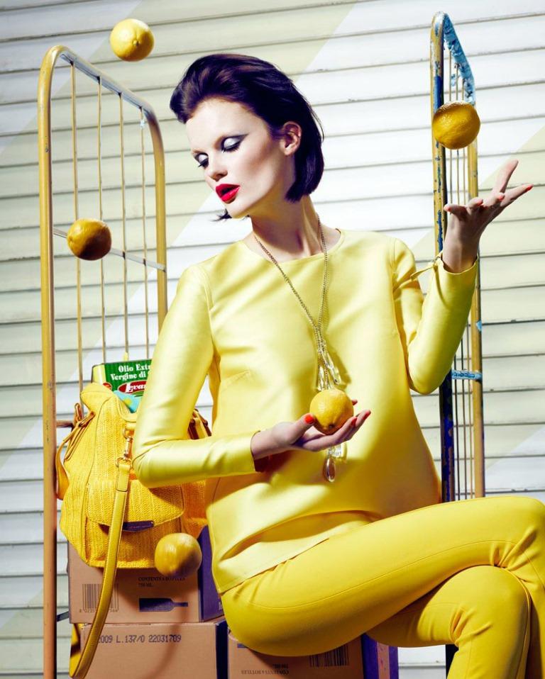Лимонный цвет великолепен!