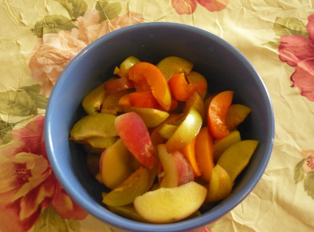 Быстрый пирог с фруктами
