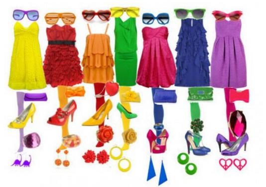 Выбираем цвет одежды