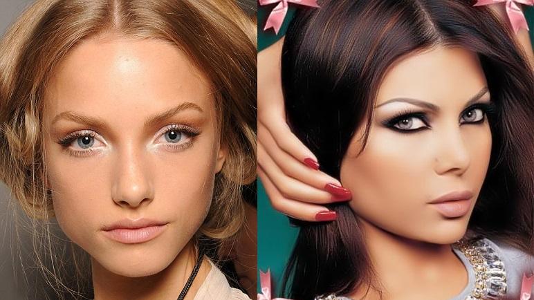 Как скорректировать нависшее веко макияж