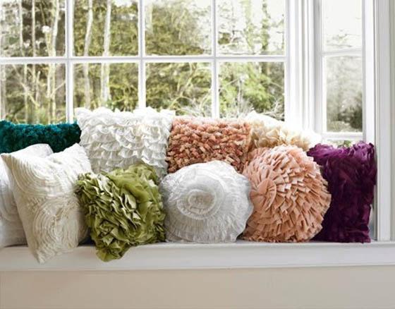 Интересные декоративные подушки