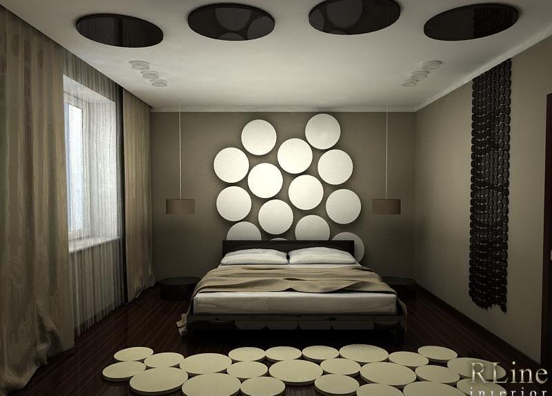 Декор в спальной