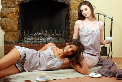 Романтичная пижама