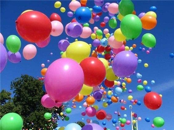 Много-много шариков