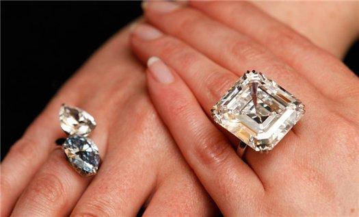 Дорогое кольцо на руке
