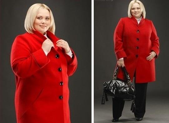 Полные девушки в пальто 1