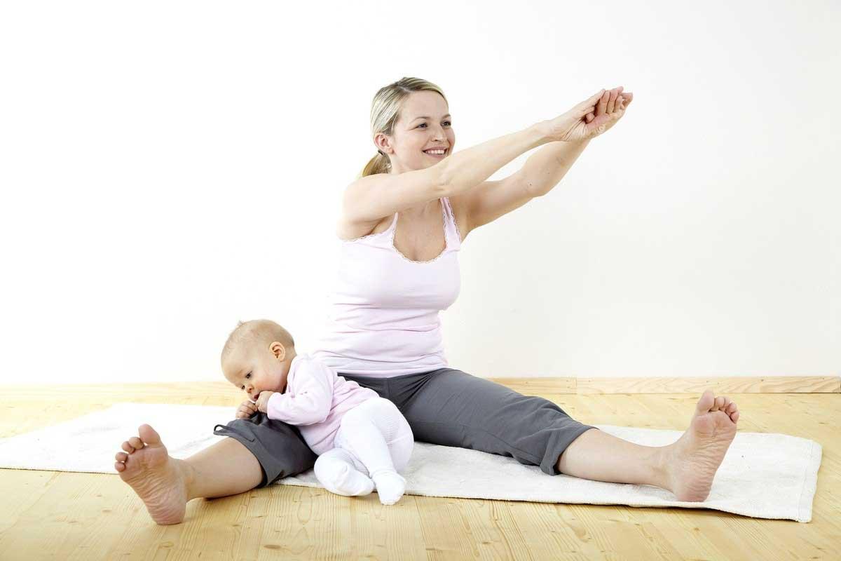 Как похудеть маме в декрете