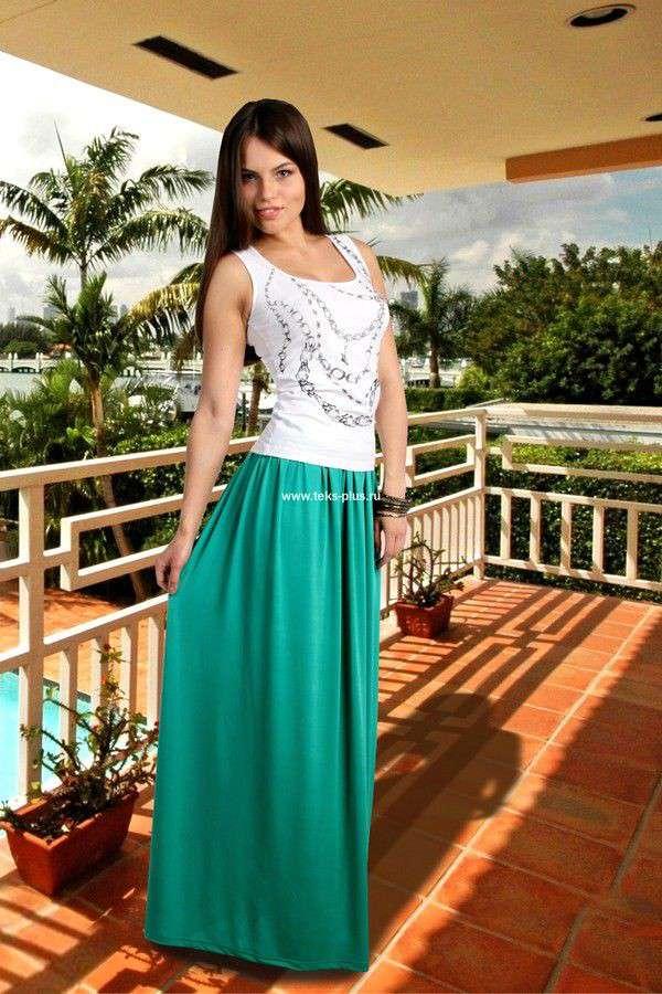 Модные майки и топы весна-лето 2015