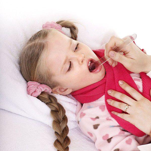 Почему болит горло у детей?