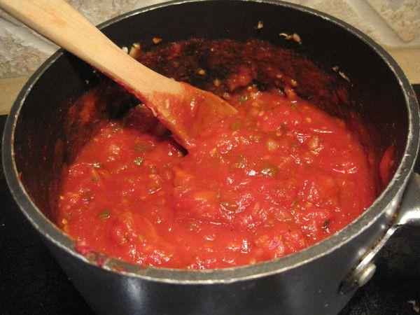 Рецепт приготовления спагетти с брынзой и помидорами