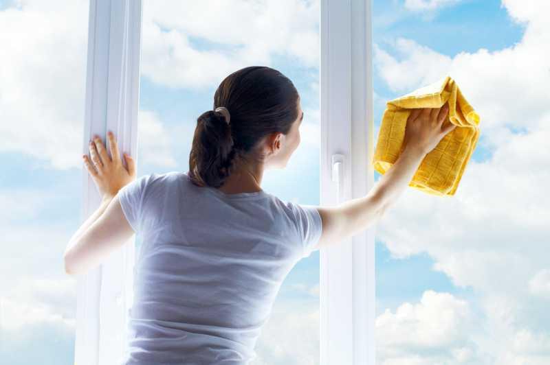Как правильно мыть окна.