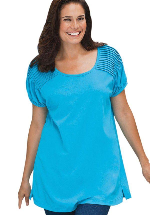 Купить Летние Блузки На Полных