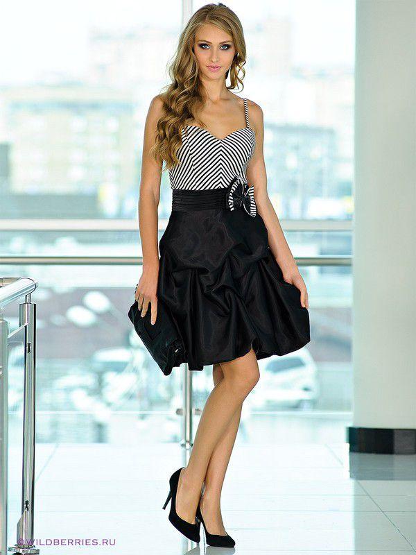 Модели романтические платья