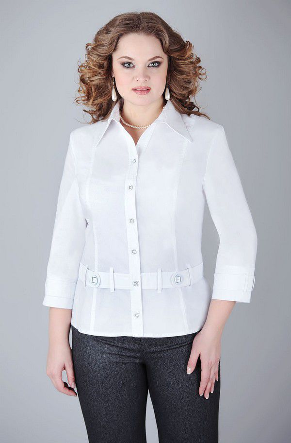 Купить Белую Блузку Для Офиса В Санкт Петербурге