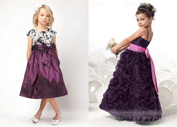 Детские нарядные платья модные