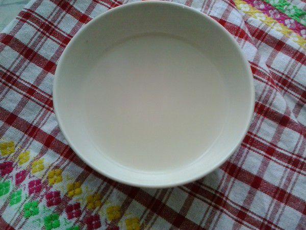 Рисовая вода для мытья волос.