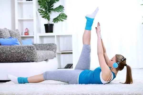 Занятия в домашних условиях для ног