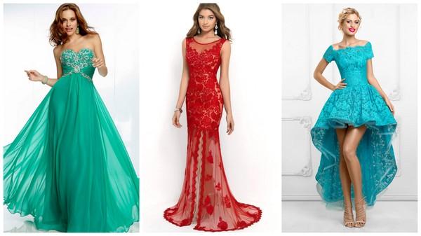Модное платье для вечера