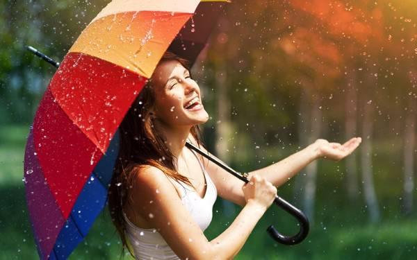 Женский зонтик