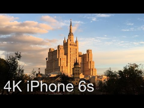 iPhone 6s 4K Video Test: Moscow Zoo