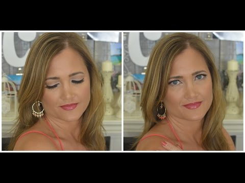 Spring Date Night Makeup Tutorial | Get Ready With Me | Lashes n' Lips | Cate Trunnell