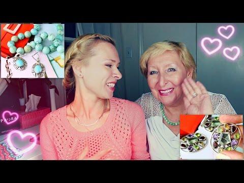 Покупки и подарки украшений - видео с мамой (^^,)