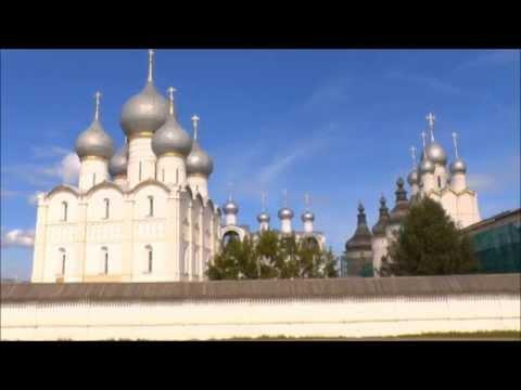 Ростов Великий.Кремль.Церкви.Golden ring.Rostov the Great.сплин романс