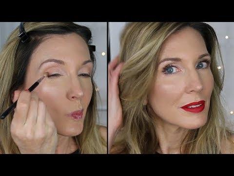 Simple Classic Red Lip + Neutral Eye Tutorial