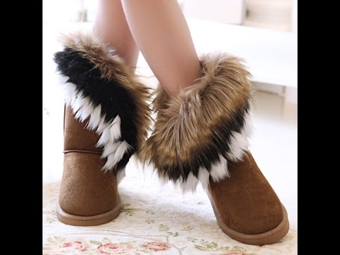 Женские угги - фото 2019 Мода - Стиль / Women's ugg boots