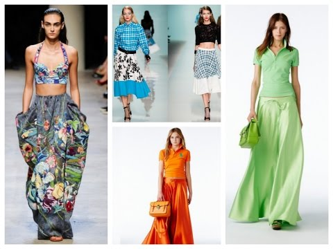 Trendy Maxi Skirts - 27 Summer Outfit Ideas!