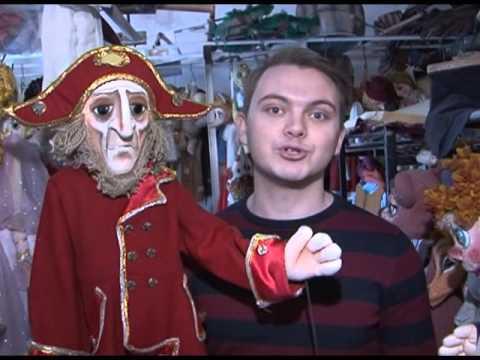 В гостях у нижегородского театра кукол. Авторы: Эльвира Юсипова и Александр Макурин