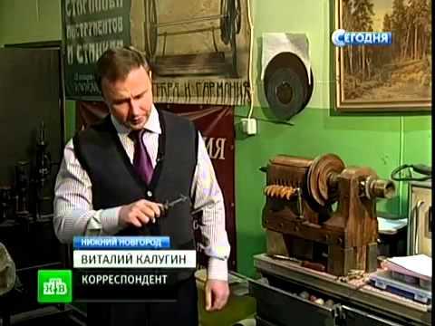 Экспонаты музея механики, г. Нижний Новгород