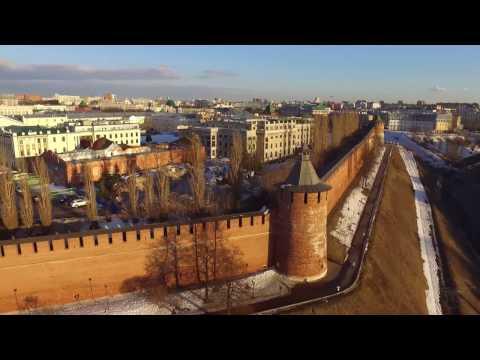 Нижегородский Кремль с высоты птичьего полета