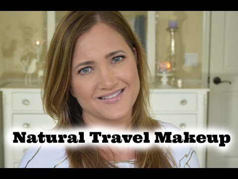 Natural Travel Makeup Tutorial | Cate Trunnell