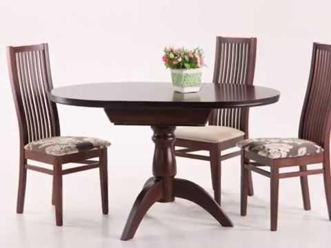 Обеденные стулья деревянные. Стул Сандра