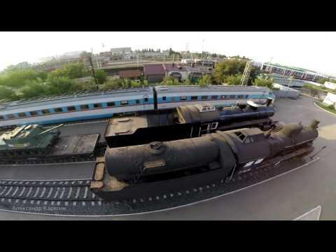 Поволжский музей железнодорожной техники #Samara #Russia