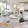 Свч — печь и современный дизайн интерьера кухни
