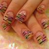 Полоски для ногтей — новая модная тенденция