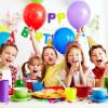 Украшение стола на день рождения ребёнка
