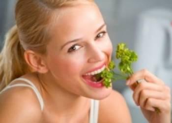 Зеленая диета – лучший вариант для экстренного похудения
