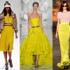 Лимонный цвет в одежде