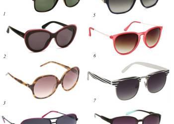 Солнечные очки – стильный аксессуар для модного образа