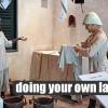 Прачечная на дому — советы домохозяйкам