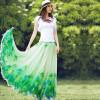 Длинные юбки лето 2015