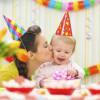 Как организовать день рождения ребенка 1 год
