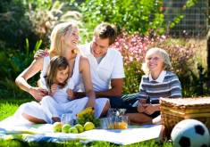 Семейный пикник