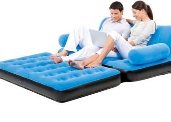 Надувной диван трансформер