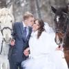 Свадебная прогулка осенью и зимой