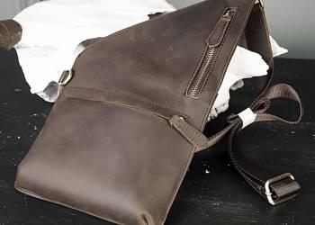 Правила подбора мужской сумки, которая носится через плечо