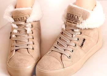 Модные женские зимние кроссовки